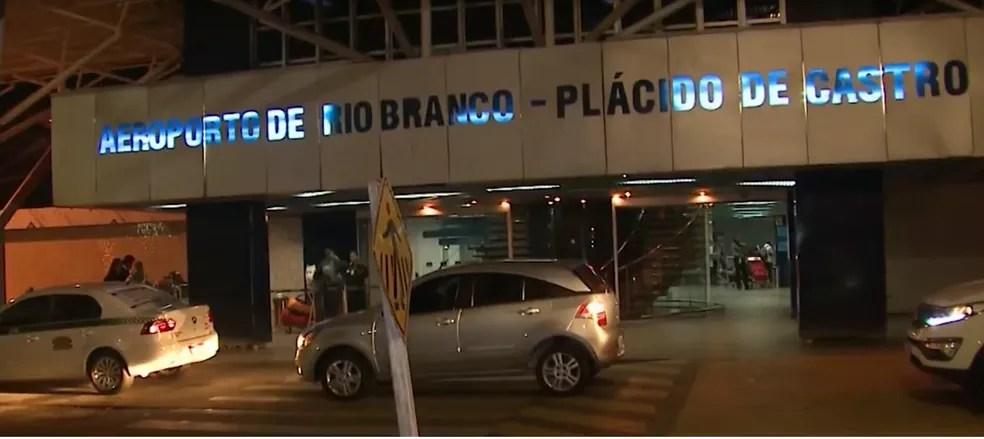 Dois aeroportos do AC podem passar para a iniciativa privada a partir do ano que vem — Foto: Reprodução Rede Amazônica