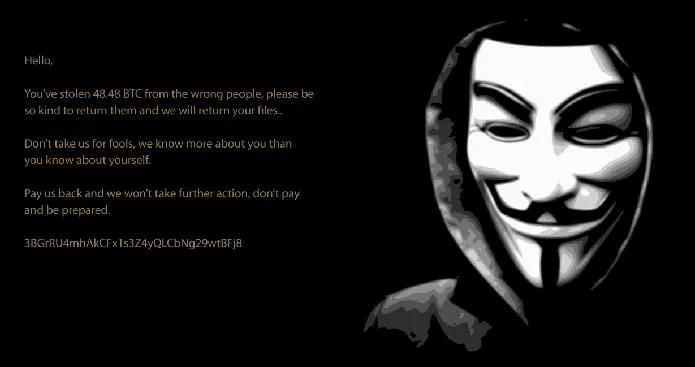 Malware usa ameaças para fazer com que vítimas paguem por arquivos (Foto: Divulgação/AVG)