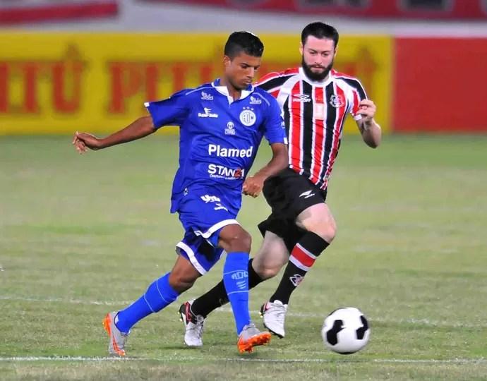 Santa Cruz x Confiança Nordestão (Foto: Aldo Carneiro / Pernambuco Press)
