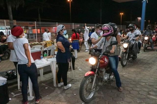Vacinação contra a Covid em Ji-Paraná (RO) em agosto de 2021 — Foto: Secom/Prefeitura Ji-Paraná