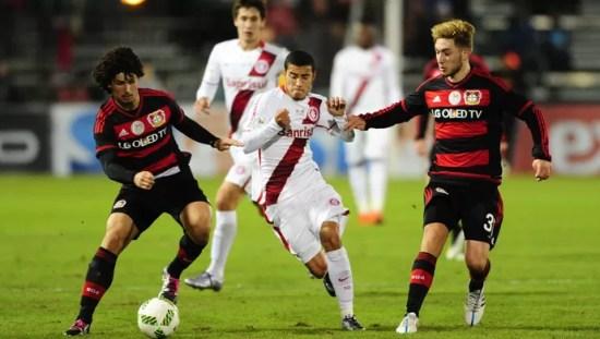 Inter x Bayer Leverkusen Florida Cup (Foto: Ricardo Duarte/Divulgação Inter)