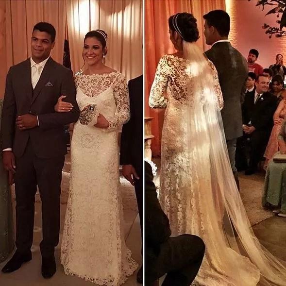 Luciano Corrêa e Joanna Maranhão se casaram no Recife (Foto: Reprodução/Instagram)