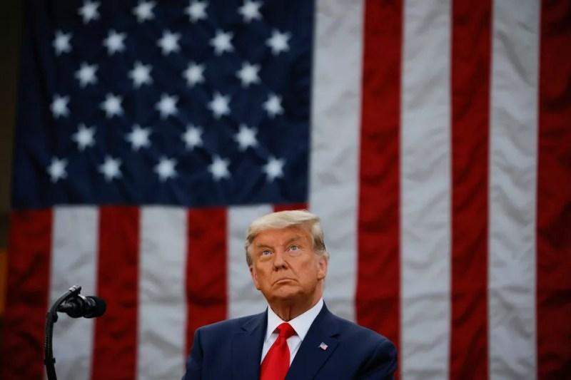 Presidente Donald Trump em imagem de 13 de novembro — Foto: Carlos Barria/Reuters