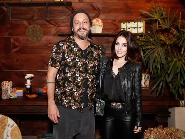 Alexandre Nero e sua namorada em festa de Império (Foto: Ellen Soares / Gshow)