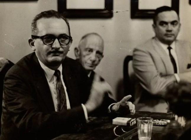 Paulo Freire em retrato de 1963 — Foto: ARQUIVO NACIONAL/ DOMINIO PUBLICO