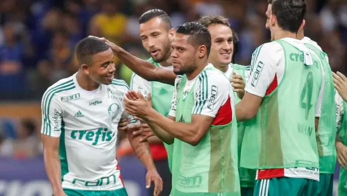 Cruzeiro x Palmeiras Gabriel Jesus (Foto: Thomas Santos/Agif/Estadão Conteúdo)