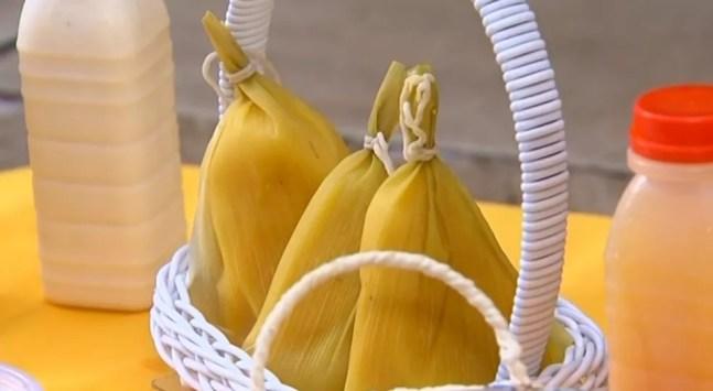 Festa do Milho acontece em São Roque (SP) a partir desta sexta-feira (13) — Foto: TV TEM/Reprodução