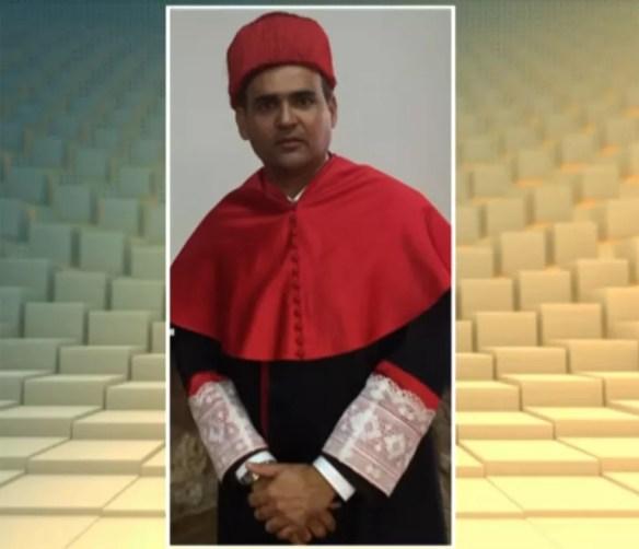 Juiz Sérgio Humberto de Quadros Sampaio foi preso em 23 de novembro em um desdobramento da Operação Faroeste, uma ação contra venda de sentenças para grilagem de terras na Bahia — Foto: Reprodução/TVGlobo