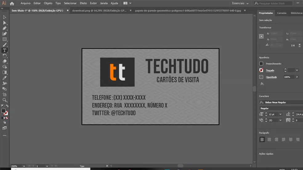 Advanced features, chart overlays or the download of chart updates. Cinco Programas Para Fazer Cartao De Visita Produtividade Techtudo