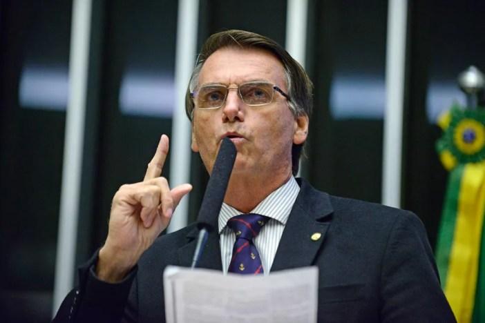 Jair Bolsonaro (PSC) (Foto: Nilson Bastian/Câmara dos Deputados/Arquivo)