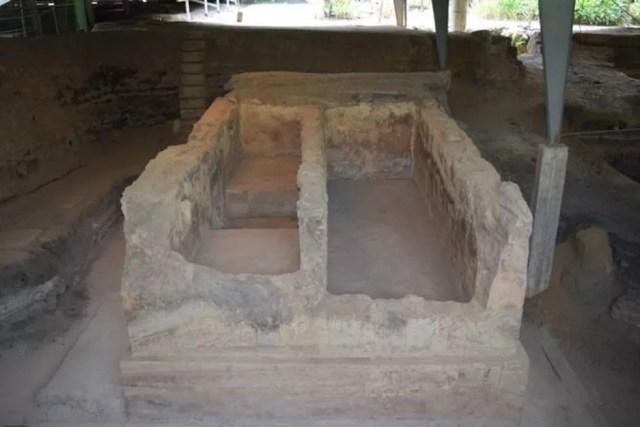 Una de las habitaciones encontradas en Joya de Cerén (Foto: MINISTERIO DE CULTURA EL SALVADOR)