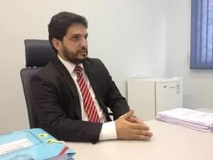 Promotor de Justiça Jônatas Albuquerque (Foto: Eliete Marques/G1)