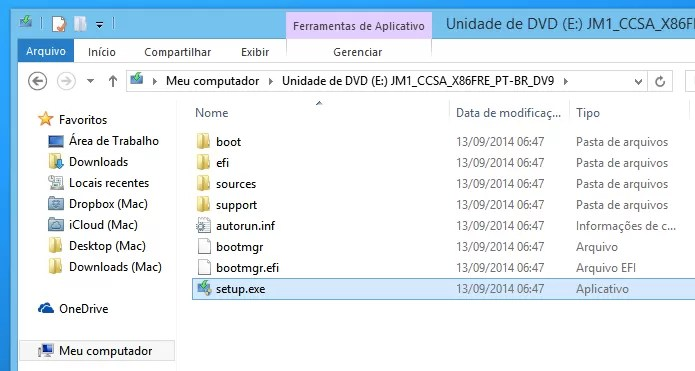Iniciando instalação do Windows 10 (Foto: Reprodução/Helito Bijora)