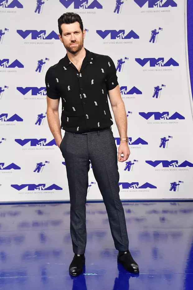 INGLEWOOD, CA - AUGUST 27:  Billy Eichner attends the 2017 MTV Video Music Awards at The Forum on August 27, 2017 in Inglewood, California.  (Photo by Frazer Harrison/Getty Images) (Foto: Getty Images)