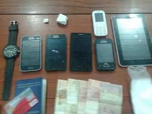 Material foi encontrado com suspeito em Macapá (Foto: Divulgação/BRPM)