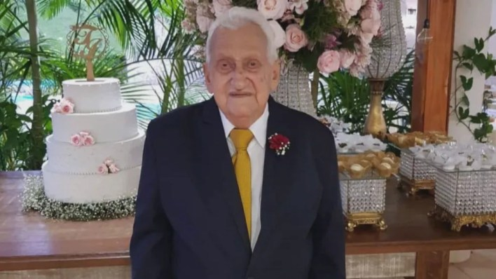Juarez, avô de Maicon, morreu aos 83 anos — Foto: Arquivo pessoal/Divulgação