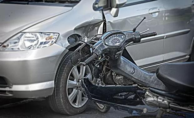 Acidente de moto (Foto: Shutterstock)