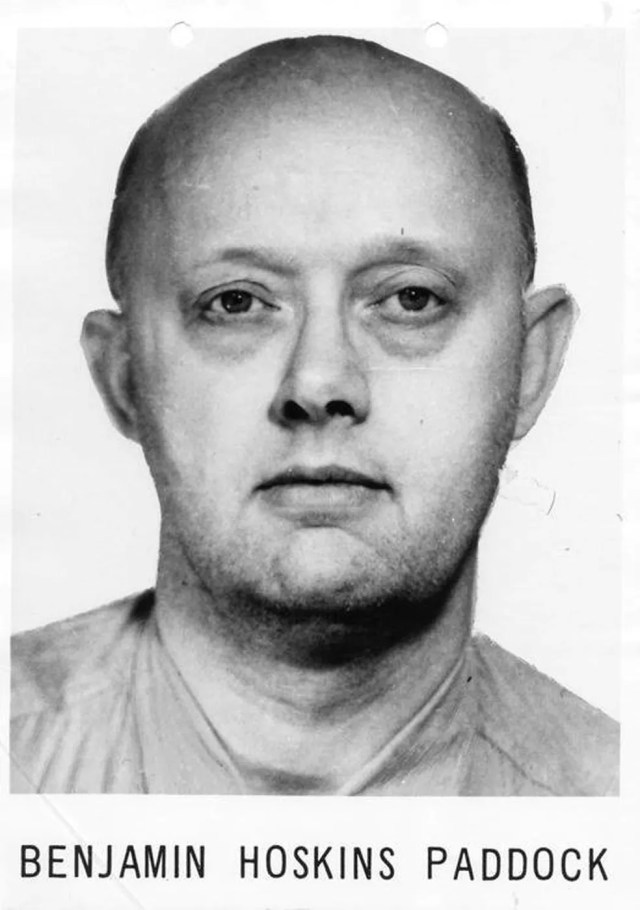 Benjamin Hoskins Paddock, pai do atirador Stephen Paddock, em uma foto do FBI (Foto: Courtesy FBI/Handout via Reuters)