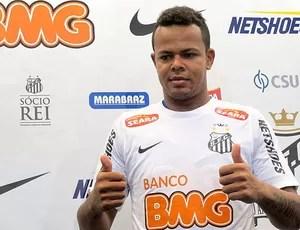 Bill, Santos (Foto: Lincoln Chaves de Oliveira / Tv Tribuna)