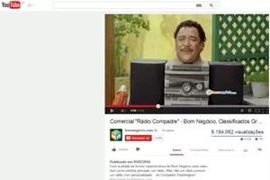 Propaganda do site Bom Negócio (Foto: Reprodução/YouTube)