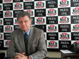 O novo diretor do Deinter-9, Paulo Afonso Bicudo (Foto: Suzana  Amyuni/G1)