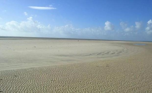 Viseu tem imensas extensões de praias, ainda pouco exploradas pelo turismo. (Foto: Fabio Soares/ Divulgação Prefeitura de Viseu. )
