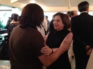 Lucilia Beting afirmou que está tentando se manter forte após morte do marido (Foto: Letícia Macedo/G1)