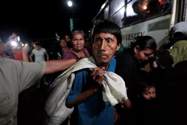 Desde terça-feira, Ministério de Segurança evacuou 4 mil pessoas na Nicarágua (Foto: Oswaldo Rivas/Reuters)