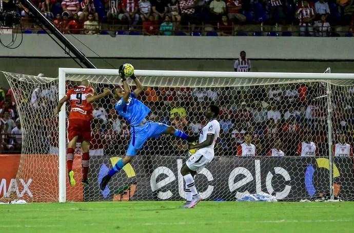 Jordi, goleiro do Vasco  CRB x Vasco Rei Pelé (Foto: Ailton Cruz/Gazeta de Alagoas)