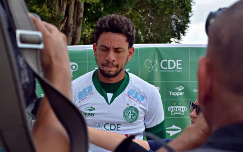 O goleiro Wallace  (Foto: Foto: Gabriel Ferrari/ GuaraniPress))