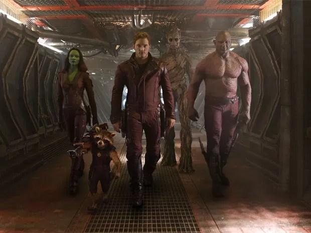 Cena de 'Guardiões da galáxia' (Foto: Divulgação/Marvel)