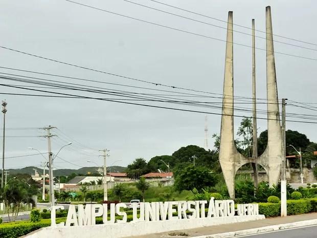 Campus central da UFRN, em Natal (Foto: UFRN/Divulgação)