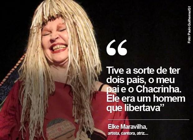 Elke Maravilha (Foto: Paulo Guilherme/G1)