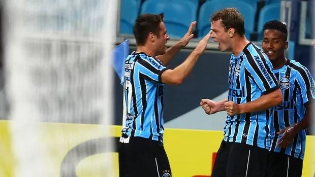 Grêmio e Atlético/MG (Foto: Lucas Uebel/Grêmio FBPA)
