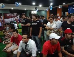 128 pessoas participaram do Mundial de games da Fifa em Fortaleza (Foto: Divulgação)