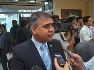 Moisés Souza, presidente da Alap, fala em cobrar dívida da Petrobras (Foto: John Pacheco/G1)