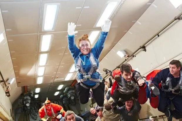 Dina Barile: primeira mulher brasileira a realizar um voo para a Estratosfera (Foto: divulgação)