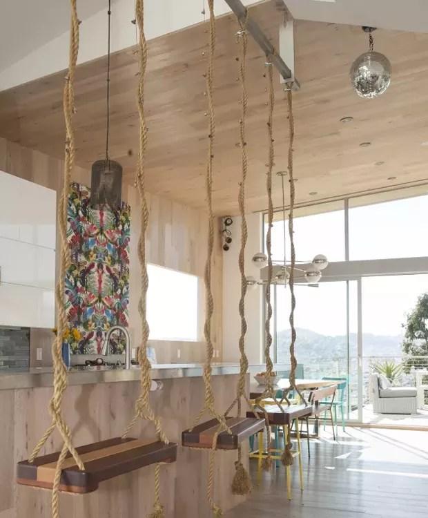 A corda grossa deixa a decoração mais rústica (Foto: Pinterest/ Reprodução)