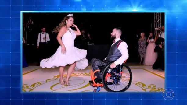 Foto do casamento de Suzy e Diego — Foto: TV Globo