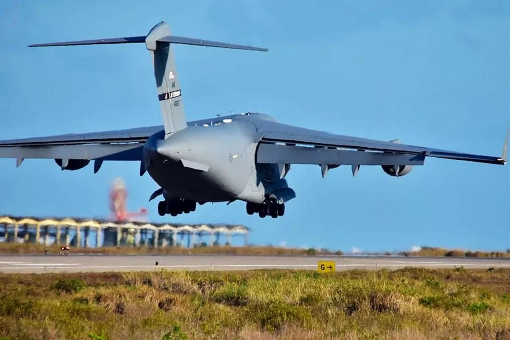aviao - Mais de 100 aeronaves e 14 países participam de exercícios de guerra em Natal