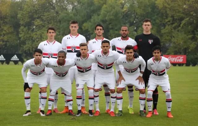 São Paulo Sub-20 (Foto: Afonso Pastore/saopaulofc.net)