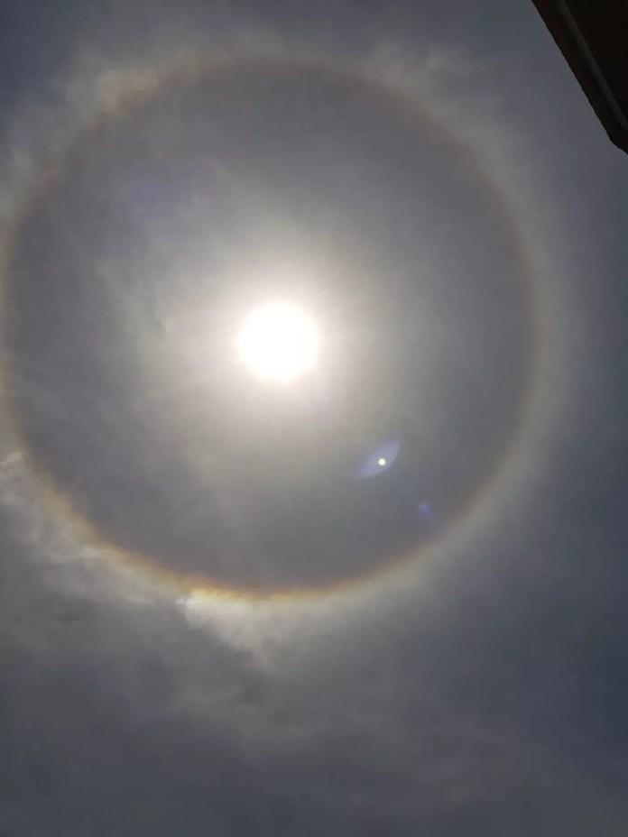 Sol em Macapá — Foto: Jorge Júnior/Rede Amazônica