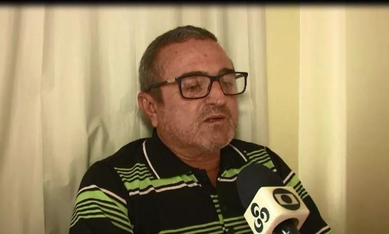 Agente de fiscalização Josué Torquato foi afastado após multar frigorífico — Foto: Reprodução