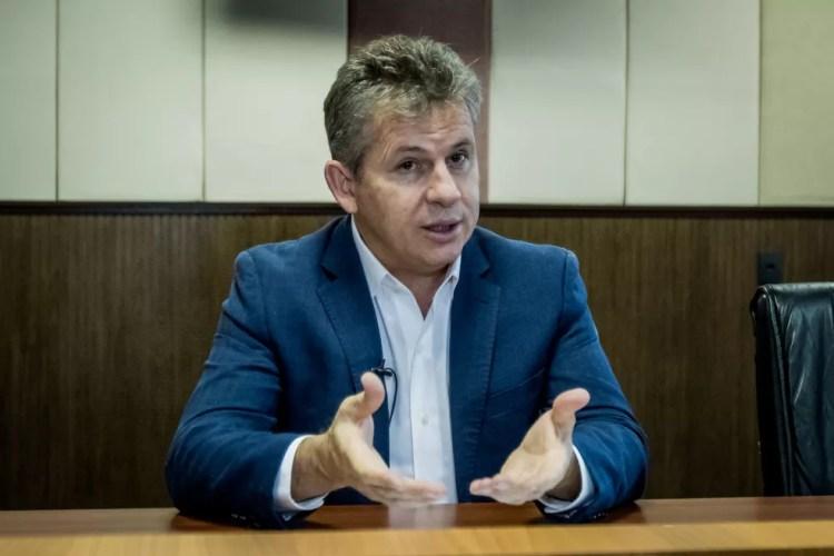 Medidas foram propostas pelo governador Mauro Mendes (DEM) nesta sexta-feira — Foto: Christiano Antonucci/Secom-MT