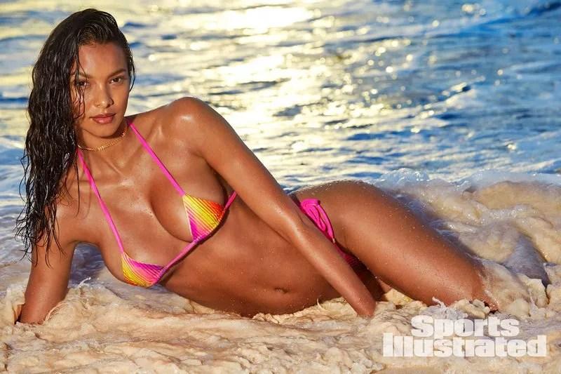 Lais Ribeiro A Estrela Do Sports Illustrated Swimsuit