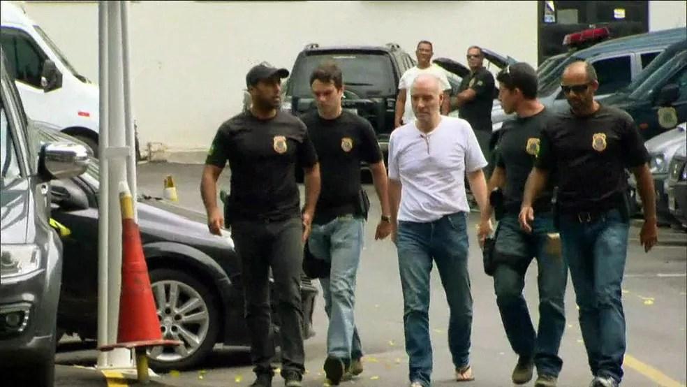 Eike Batista foi preso na Operação Eficiência (Foto: Reprodução/GloboNews)