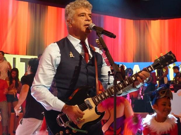 Lulu Santos arrasando no palco do Esquenta (Foto: Esquenta/ TV Globo)