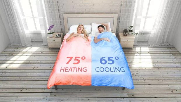 Este cobertor inteligente vai salvar seu casamento (Foto: Divulgação)