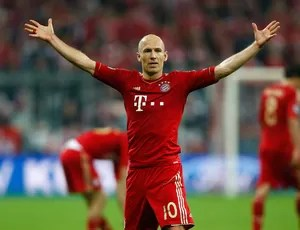 Robben, Bayern de Munique x Barcelona (Foto: Reuters)