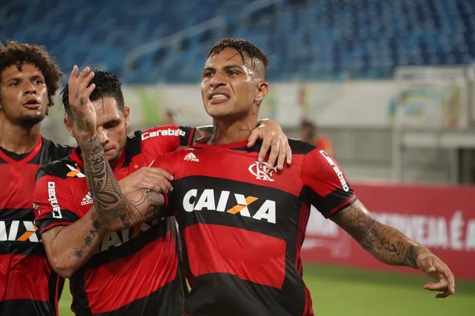 Guerrero Flamengo x Boavista (Foto: Gilvan de Souza/Flamengo)